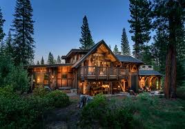 mountain cabin overflowing with rustic character and handcrafted