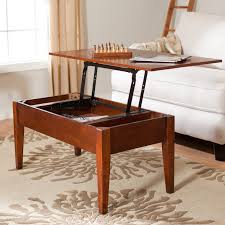 decorating expandable coffee table to dining table on furniture
