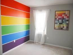 Paint Ideas For Kids Rooms by Best 25 Rainbow Wall Ideas On Pinterest Rainbow Room Kids