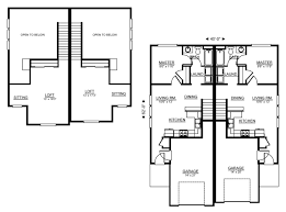 single story duplex floor plans 19 stunning duplex building plan of amazing house designs floor