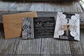 halloween wedding invitation set skull invitation sugar skull