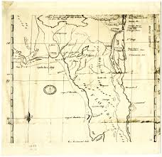 Florida Trail Map by Florida Memory Spanish Trail Map Of Florida 1750