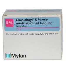 5 w v medicated nail lacquer
