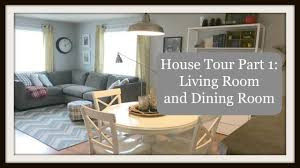 Living And Dining House Tour Part 1 Living And Dining Rooms Youtube