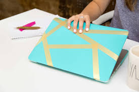 washi tape laptop case a little craft in your day