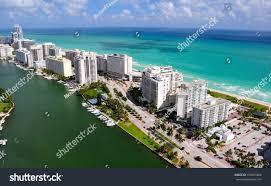 aerial view miami south beach florida stock photo 109905860
