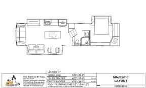 majestic floorplans u2013 new horizons rv