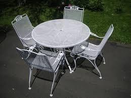 Retro Patio Furniture Sets 24 Best Wrought Iron Patio Furniture Images On Pinterest Wrought