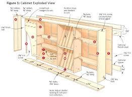 free kitchen cabinet plans kitchen cabinet plans photogiraffe me