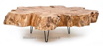 Build Wood Slab Coffee Table by Burl Wood Coffee Table Slab Cocktail Thick Massive