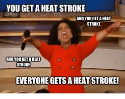 Heat Memes - you get a heat stroke 20004 and you geta heat stroke and you geta