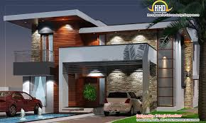 Modern Home Design 4000 Square Feet January 2012 Kerala Home Design And Floor Plans