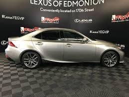 silver lexus 2016 used 2016 lexus is 350 4 door car in edmonton ab l13672a