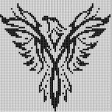 bee designs eagle 4 cross stitch pattern