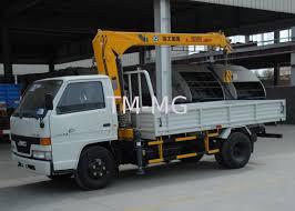 lifting hydraulic truck mounted crane fast response telescoping