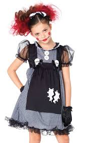 delux halloween costumes dark rag doll girls costume girls deluxe doll halloween costume