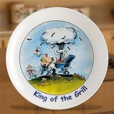 personalized barbecue platter personalized king of the grill platter cottage colony products