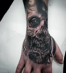 tattoo ideas zombie 90 zombie tattoos for men masculine walking dead designs