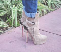 christian louboutin equestria grey ankle boot u2013 lifestyle with