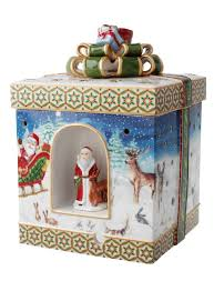 amazon com villeroy u0026 boch christmas toys large square gift box