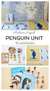 montessori writing paper 175 best animal unit activities images on pinterest animals montessori inspired penguin unit for preschoolers