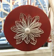 quilled snowflake ornament think crafts by createforless