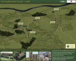 estate map the harewood estate c 1698 heritage technology ltd