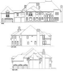 european house plan spacious european house plan with porte cochere 13453by