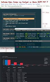nginx access log analyzer install goaccess nginx access log analyzer on ubuntu 16 04 php 7
