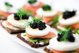 appetizer canape 10 best caviar canapes recipes