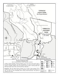 New Mexico State Parks Map by Map And Site Information Temescal Gateway Park Santa Monica