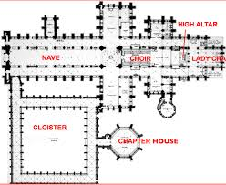 gothic cathedral floor plan art history oer wiki romanesque and gothic