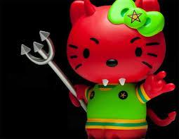 kitty em releituras toy art