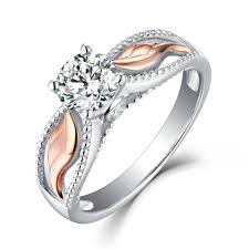 gold and silver engagement rings engagement rings buy cheap engagement rings lajerrio jewelry
