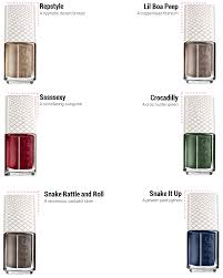 essie repstyle snakeskin magnetic collection