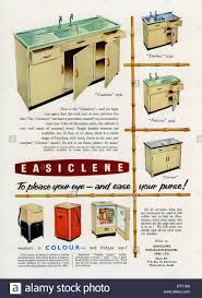 sink units for kitchens old advert for easiclene easy clean kitchen sink units and stock