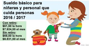 valores servicio domestico 2016 argentina sueldos básicos de niñeras 2016 2017 econoblog