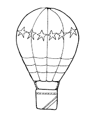 air balloon coloring pages free large images denenecek