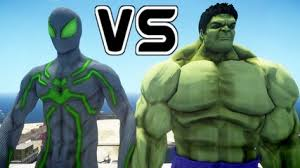 hulk iron man mark iii blue version epic battle video