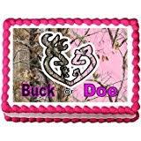 buck and doe cake topper country doe and buck wedding cake topper country