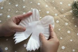 sparkling wings made from coffee filters hometalk