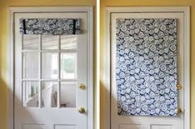 Curtains For Doors With Windows Catchy Curtains For Half Window Door Inspiration With Curtain