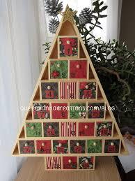 wooden tree advent calendar queenvannacreations 2013 flickr
