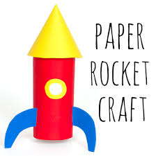 paper space rocket craft u2014 doodle and stitch