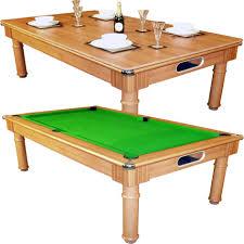 Wood Pool Table Dining Room Pool Table 7838