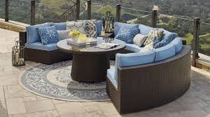 Modular Wicker Patio Furniture - pasadena modular outdoor collection sofa set patios and outdoor