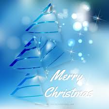 blue christmas tree background graphics 123freevectors