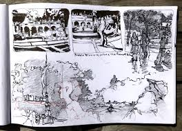 nyc urban sketching workshop with veronica lawlor chris carter