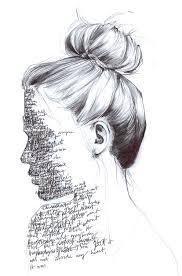 it u0027s written all over her face art pinterest face drawings