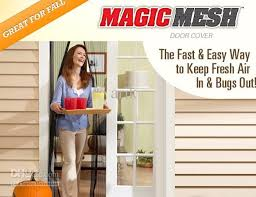 Magic Mesh Curtain New Magic Mesh Hands Free Screen Door Magnetic As On Tv Chiffon